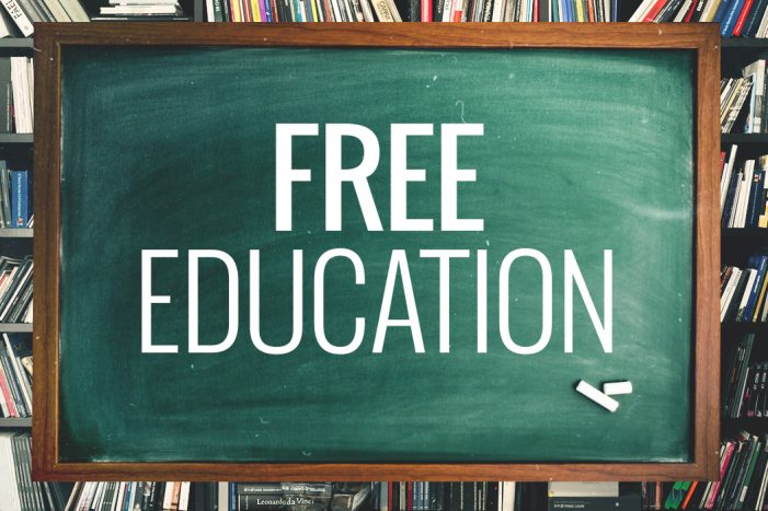 """Free Education"" a dream deferred"