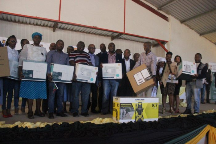 Tools and equipments donated to informal business owners in Lephalale