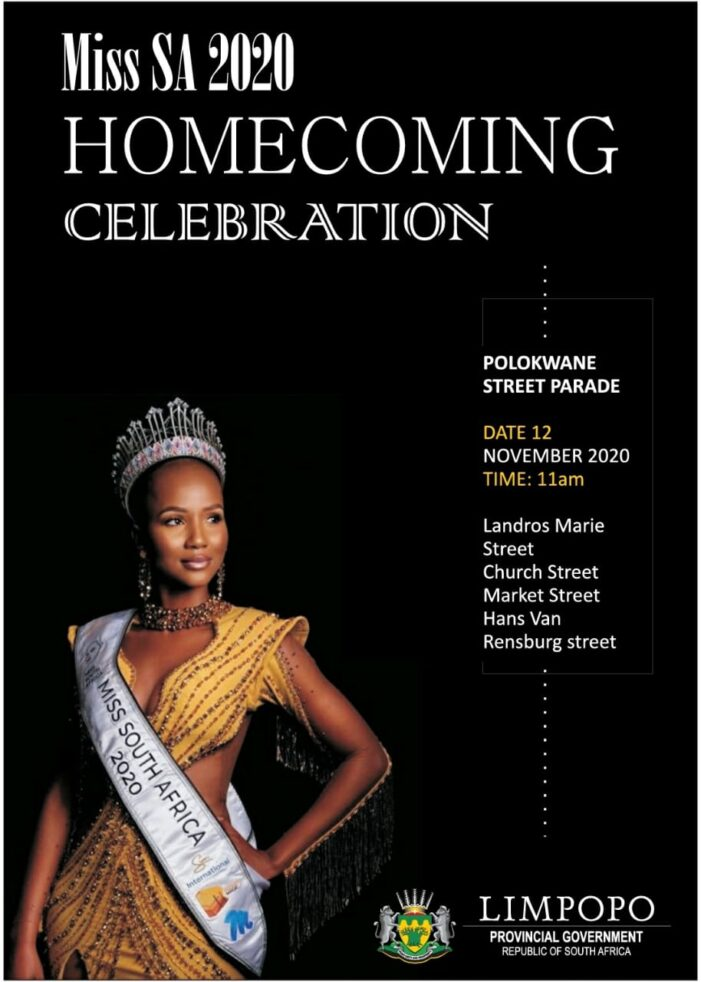 MISS SA 2020 Shudufhadzo Musida Is Coming Home – Limpopo